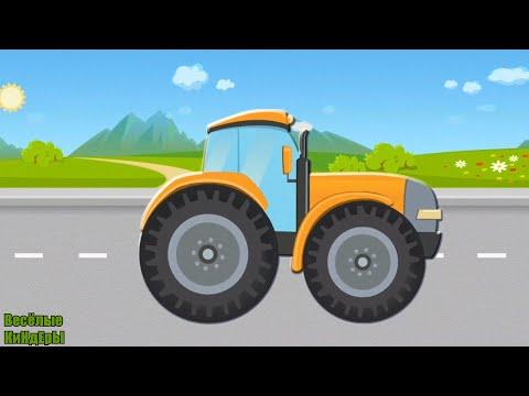 Про Машинки мультик пазлы для детей | Экскаватор Скорая помощь Полицейская машина | Весёлые КиНдЕрЫ