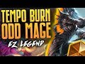 EZ Legend With Tempo Burn Nightblade Mage Rastakhan S Rumble Hearthstone mp3