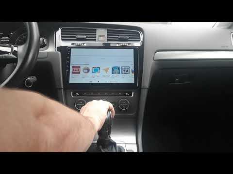 VW Golf Mk7 + штатная магнитола на Android 8.0