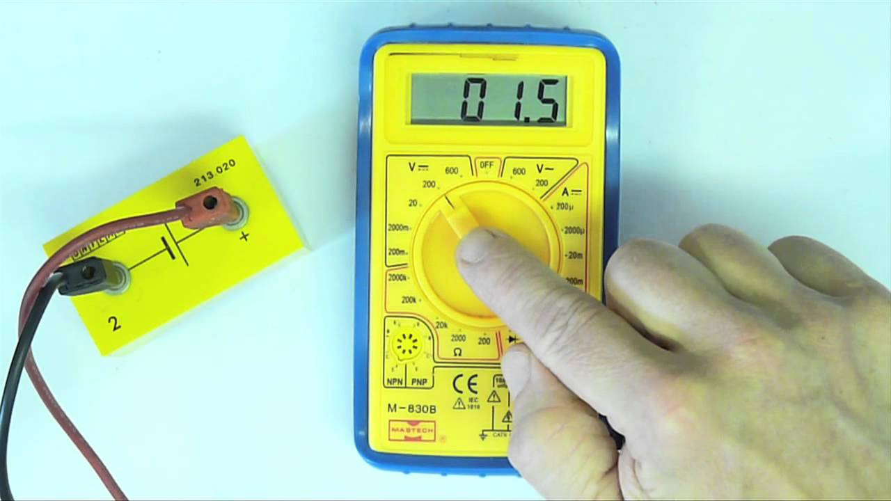 How To Use A Multimeter Measuring Voltage Youtube