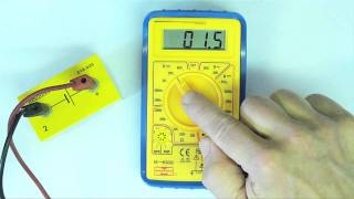 How to Use a Multimeter: Measuring Voltage