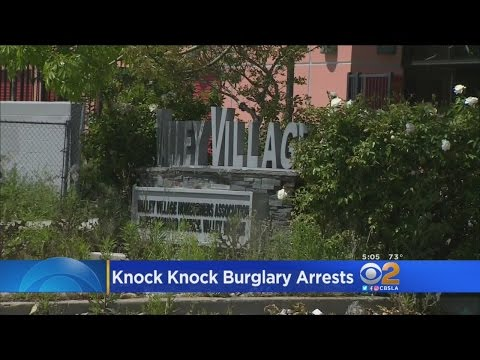 3 Knock-Knock Burglary Suspects Caught In Valley Village