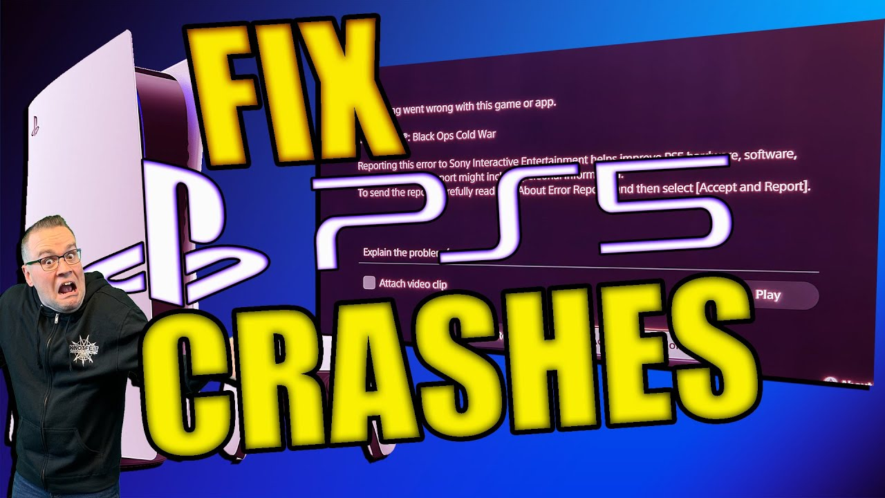 Download Fix PS5 game crashes or not loading with this tip