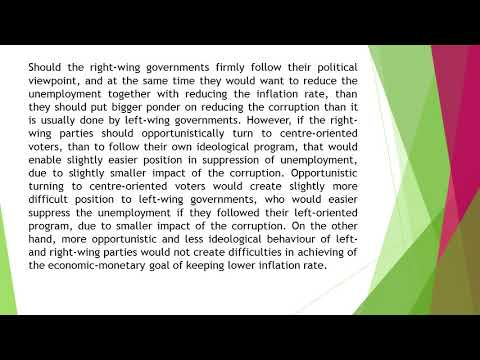 Corruption and Political View Point of the Governments in Transition Countries EU Members AEFR 51 73