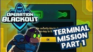 Club Penguin Rewritten Operation Blackout Terminal Mission Part 1