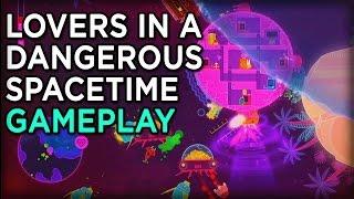 Saving Space Bunnies - Lovers in a Dangerous Spacetime Gameplay