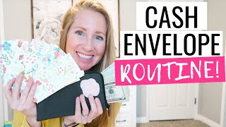 Our Family's Cash Envelope System ROUTINE   Cash Envelope System for Beginners