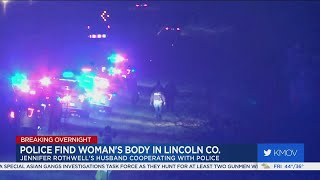 Gambar cover Body found during search for Jennifer Rothwell in Lincoln County
