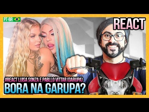 REAGINDO a Luísa Sonza Pabllo Vittar - Garupa