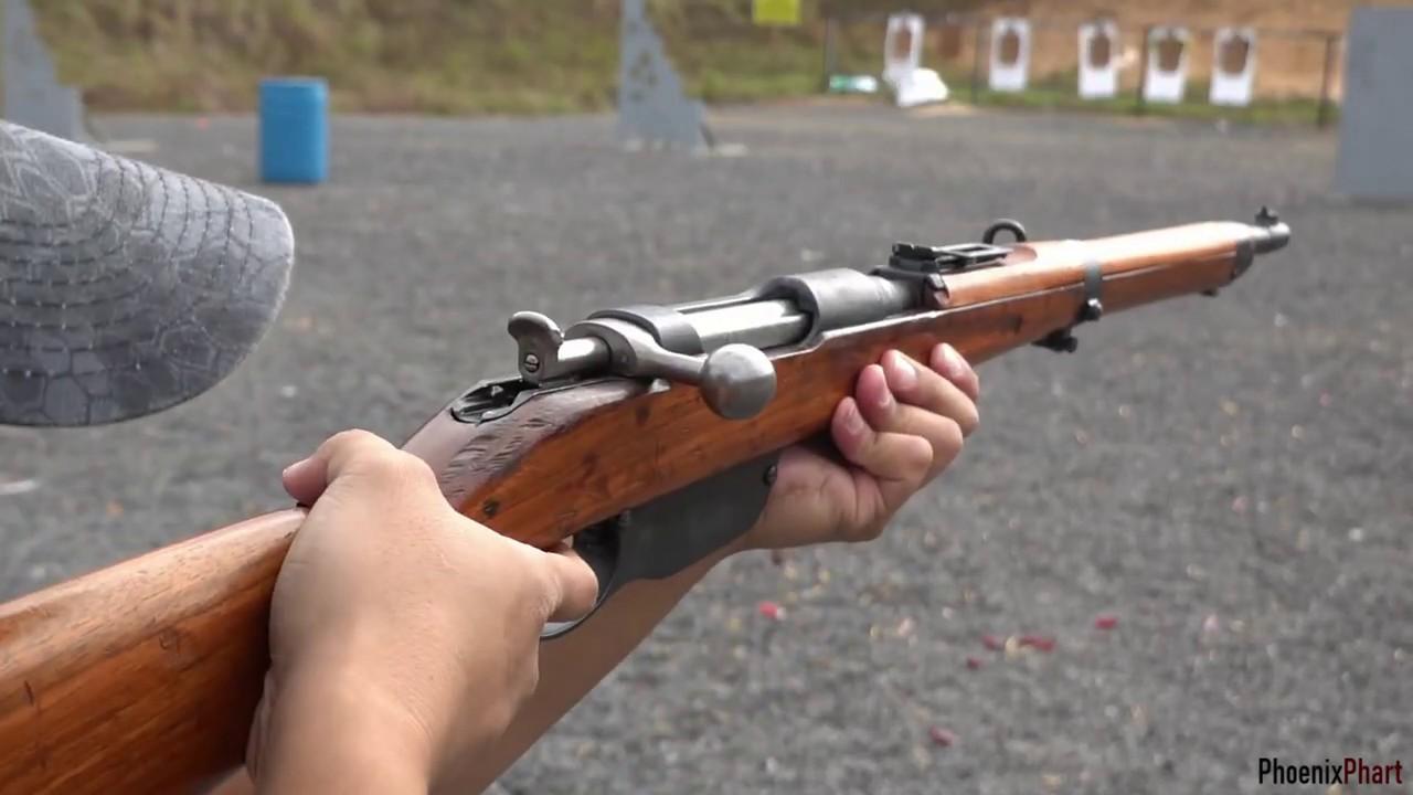 Rifle steyr mannlicher The M95