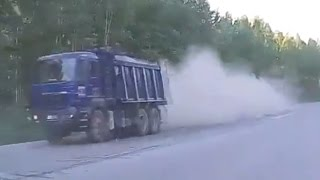 Tragischer Lkw Unfälle Russland 2016 / Top Truck crash compilation  in 2016