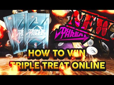 HOW TO WIN TRIPLE THREAT ONLINE GAMES! Lineups Suggestions And Defensive Tips! NBA 2K19