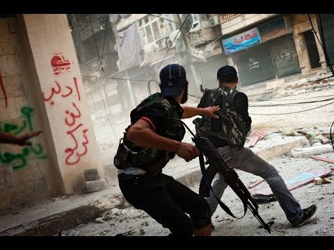 Deadly Conflict in Syria - Combat Footage
