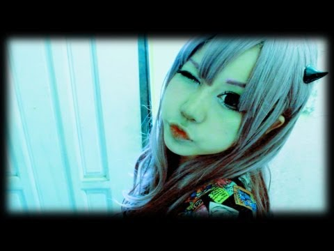 Kawaii dolly makeup