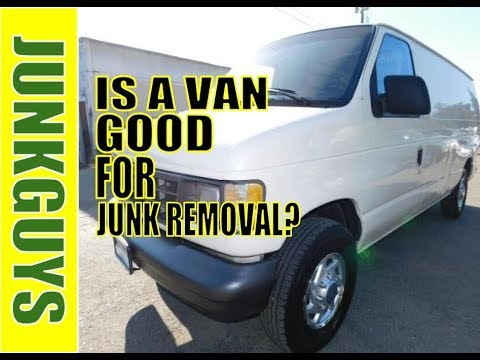 Should i purchase an Econoline van for Junk Removal?    / dfwjunkguys.com