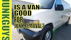 Should i purchase an Econoline van for Junk Removal?    / dfwjunkguys.com