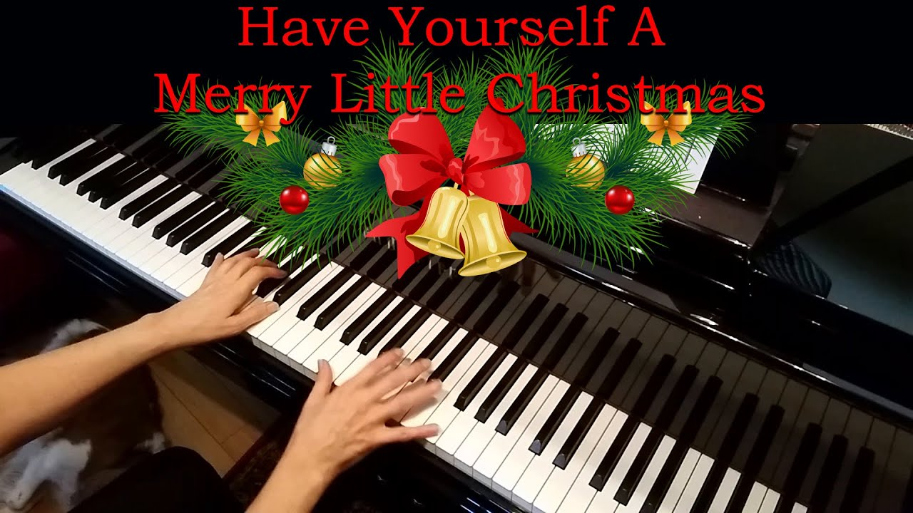 have yourself a merry little christmas easy piano pdf