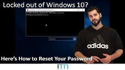 Locked out of Windows 10? Here's How to Reset Your Windows Password [READ DESCRIPTION]