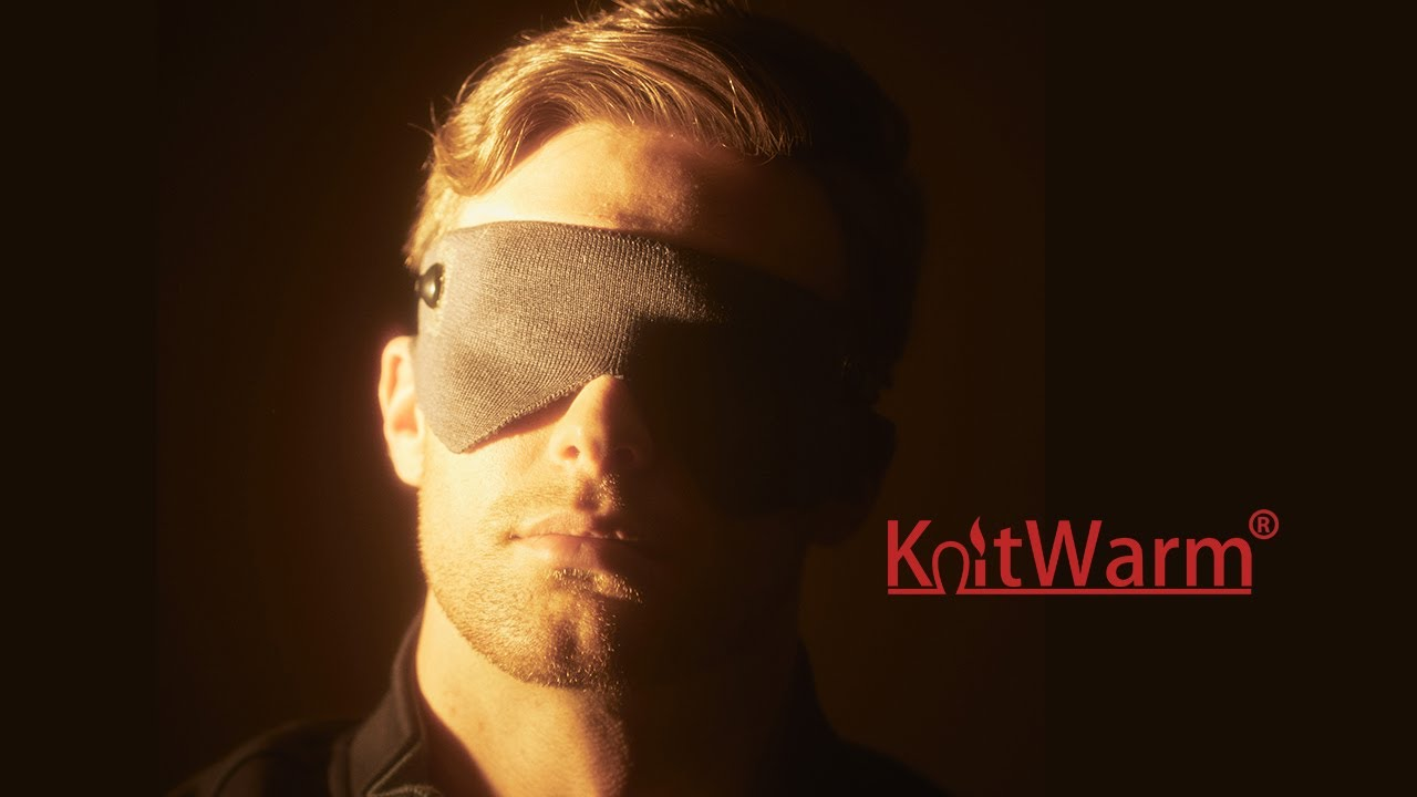 KnitWarm EyeMask helps you fall asleep