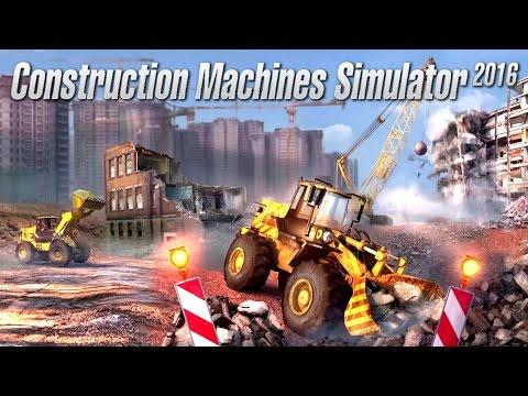 Construction Machines Simulator 2016 PC Gameplay #1 [60FPS]  