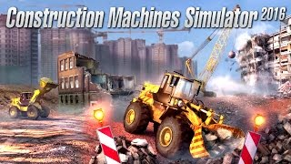 Construction Machines Simulator 2016 PC Gameplay #1 [60FPS]