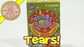 Cry Baby Tears Extra Sour Candy Box, Dubble Bubble