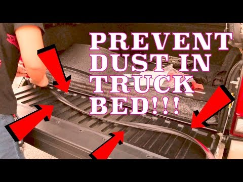 🚫STOP Dust and Water leaks with the Ultimate Tailgate Seal for ALL pick up truck