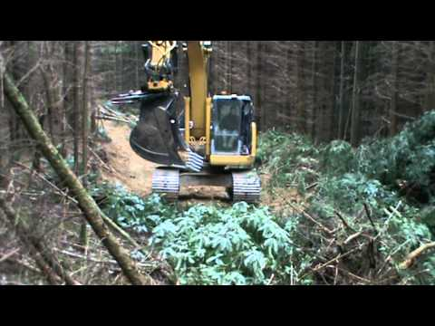engcon making roads in forestry
