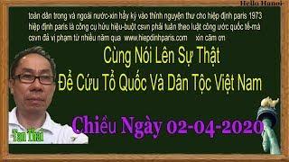 Tan Thai.Truc Tiep.chiều ngay  02-04-2020
