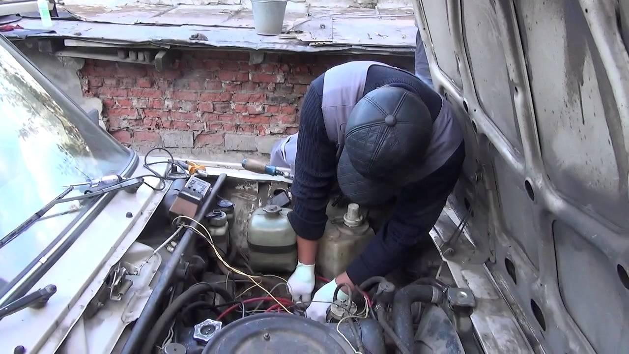 Автомобиль   2105   КСЗ  поиск  пропавшей  искры  !!!!
