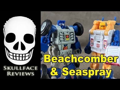 Transformers Titans Return Legends Seaspray & Beachcomber