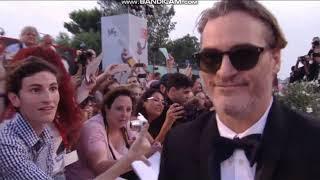 Joaquin Phoenix and Rooney Mara 2019 Venice international Film Fest Joker red carpet