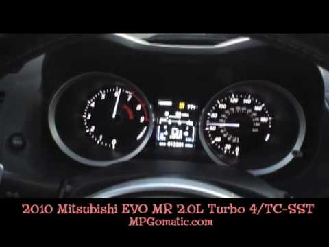Mitsubishi evo 0-60