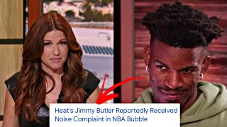 PROOF That Jimmy Butler & Rachel Nichols HOOKED Up In The NBA Bubble..