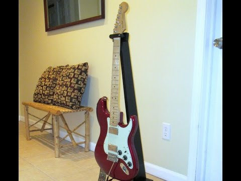 Build this Universal Guitar/Bass Stand for under $10