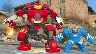 LEGO Marvel's Avengers - All Iron Man Suits Gameplay (Suit Up Animations + DLC)