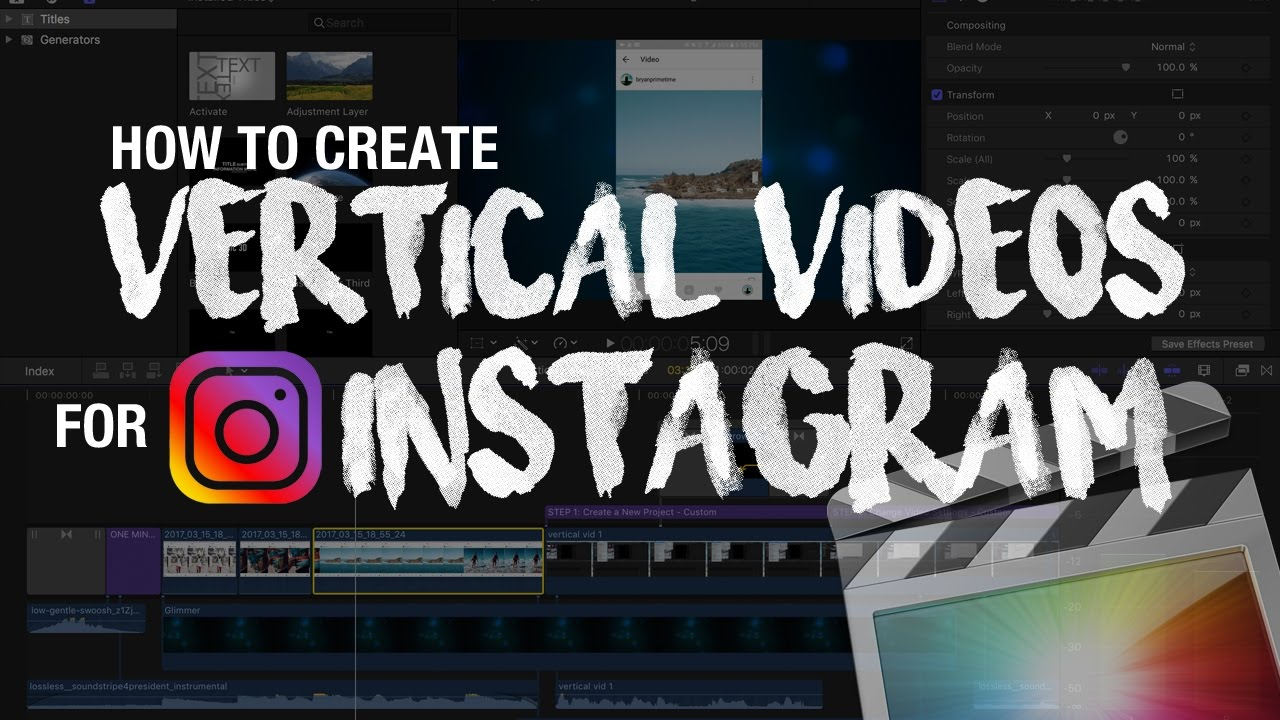 How To Make and Post Tall Vertical Videos for Instagram   YouTube How To Make and Post Tall Vertical Videos for Instagram