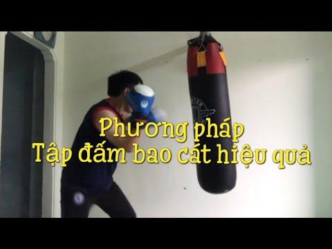 Học võ tự vệ #19 | Hoc vo, Tap bao cat | PP tập đấm bao cát | Tập boxing với bao cát, hoc vo tu ve
