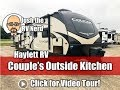UPDATED 2019 Cougar 27RES True King Bed Zero Degree Rated Half Ton Couple's Keystone Travel Trailer