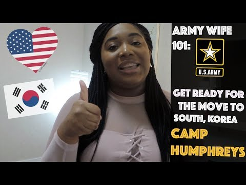 Things to know before your move to SOUTH KOREA (Camp humphreys)