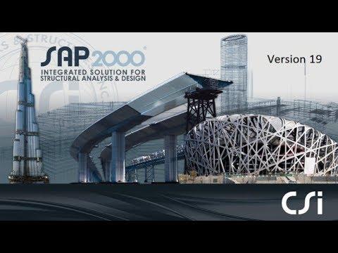 CSI Sap2000 v20 0 (x86/x64) Free Download - Engineering things