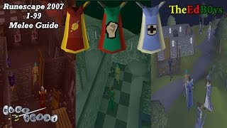 Runescape 2007 1-99 Melee Guide | OSRS Attack Strength Defence Guide