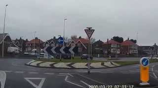 Bispham Roundabout Blackpool/how To Approach-3/www.ferrierschoolofmotoring.co.uk