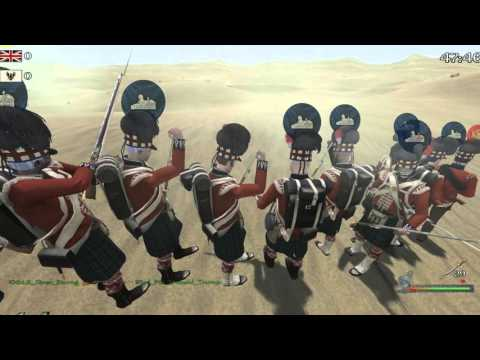 The 10th Lincolnshire Regiment vs the 93rd Sutherland Highlanders