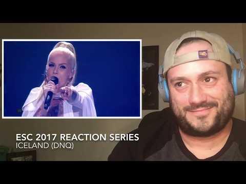 ESC 2017 Reaction to ICELAND!  (DNQ)