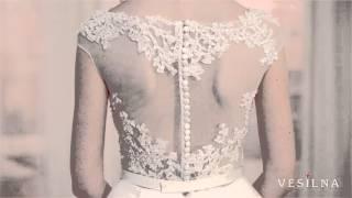 Свадебное платье 2016 года от VESILNA™ модель 3016