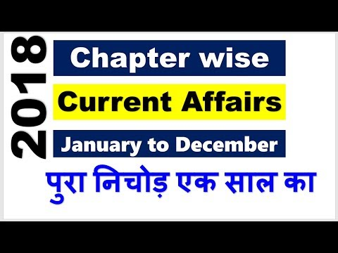 II All Conference, Summit & Events || From Jan-Dec 2018 || Current Affairs ||