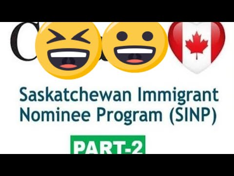 Saskatchewan Provincial Nominee Program | SINP Application P