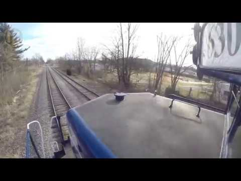 Locomotive Ride Along: Lake State Railway Saginaw to Flint
