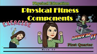 Physical Fitness Components (HRF And SRF) | Physical Education 7 8 9 10 - 1st Quarter | Maam CJ